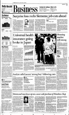 The Daily Herald from Chicago, Illinois on July 26, 2001 · Page 81