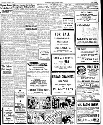 The Courier News from Blytheville, Arkansas on April 27, 1946 · Page 3