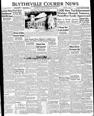 The Courier News from Blytheville, Arkansas on March 1, 1949 · Page 1