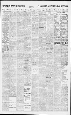 St  Louis Post-Dispatch from St  Louis, Missouri on November 8, 1953