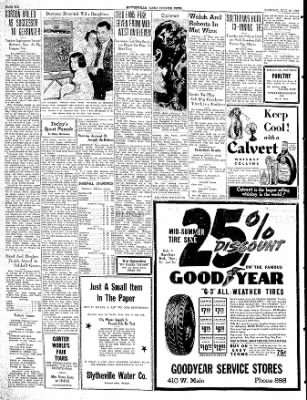 The Courier News from Blytheville, Arkansas on July 25, 1939 · Page 6