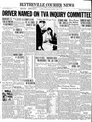 The Courier News from Blytheville, Arkansas on April 5, 1938 · Page 1