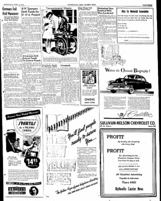 The Courier News from Blytheville, Arkansas on April 13, 1949 · Page 3