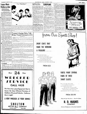 The Courier News from Blytheville, Arkansas on March 18, 1948 · Page 7
