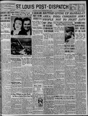 St. Louis Post-Dispatch from St. Louis, Missouri on May 3, 1942 · Page 1