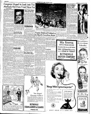 The Courier News from Blytheville, Arkansas on August 13, 1951 · Page 10