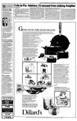 The Galveston Daily News from Galveston, Texas on October 4, 1992 · Page 9