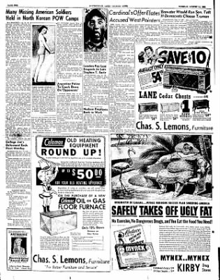 The Courier News from Blytheville, Arkansas on August 14, 1951 · Page 2