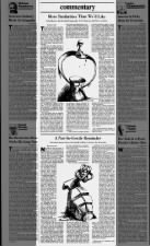 Newspaper opinion pieces about the Chernobyl nuclear disaster, published weeks after the meltdown