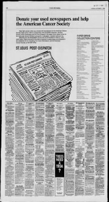 St Louis Post Dispatch From Missouri On October 11 1988 Page 14