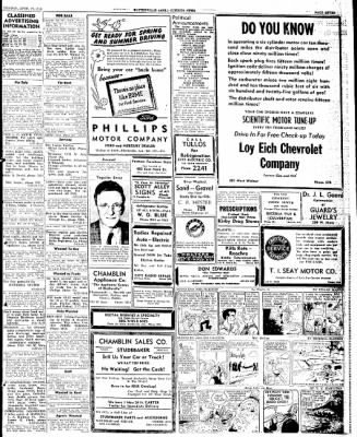 The Courier News from Blytheville, Arkansas on April 29, 1946 · Page 7