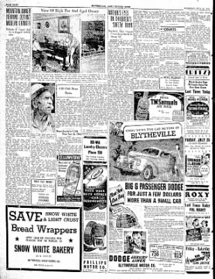 The Courier News from Blytheville, Arkansas on July 27, 1939 · Page 8