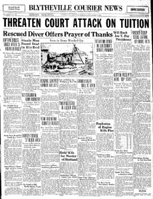 The Courier News from Blytheville, Arkansas on September 9, 1930 · Page 1