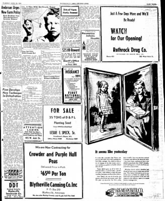 The Courier News from Blytheville, Arkansas on April 30, 1946 · Page 3
