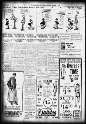 Daily Arkansas Gazette from Little Rock, Arkansas on November 1, 1913 · Page 12