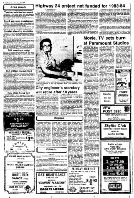 The Paris News from Paris, Texas on August 26, 1983 · Page 8
