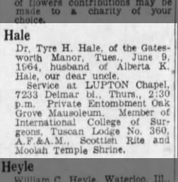 St  Louis Post-Dispatch from St  Louis, Missouri on June 10, 1964