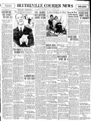 The Courier News from Blytheville, Arkansas on December 30, 1930 · Page 1