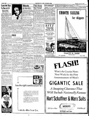 The Courier News from Blytheville, Arkansas on July 15, 1949 · Page 10