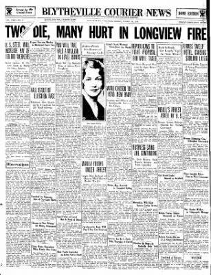 The Courier News from Blytheville, Arkansas on March 30, 1934 · Page 1