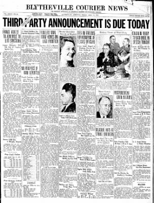The Courier News from Blytheville, Arkansas on June 19, 1936 · Page 1