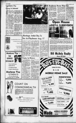 The Advocate-Messenger from Danville, Kentucky on August 11, 1974