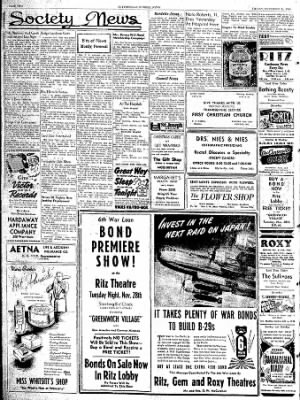 The Courier News from Blytheville, Arkansas on November 24, 1944 · Page 2