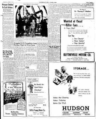 The Courier News from Blytheville, Arkansas on April 7, 1947 · Page 3