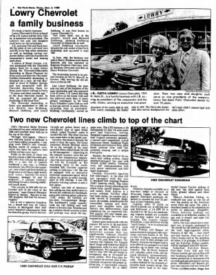 The Paris News From Paris Texas On November 3 1988 Page 20
