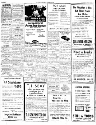 The Courier News from Blytheville, Arkansas on July 16, 1949 · Page 6