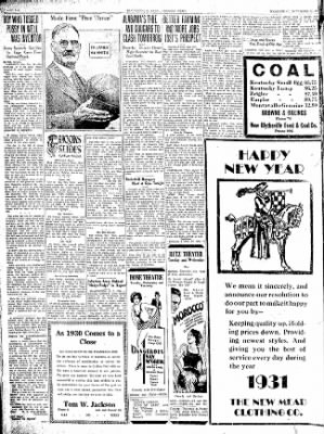 The Courier News from Blytheville, Arkansas on December 31, 1930 · Page 6