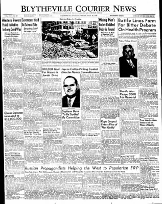 The Courier News from Blytheville, Arkansas on April 15, 1949 · Page 1