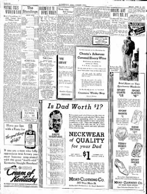 The Courier News from ,  on June 19, 1936 · Page 6