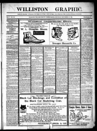 Sample Williston Graphic front page