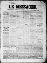 Sample Le Messager front page