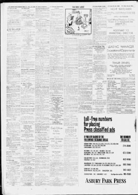 asbury park press from asbury park new jersey on november 13 1970  asbury park press from asbury park new jersey on november 13 1970 page 32