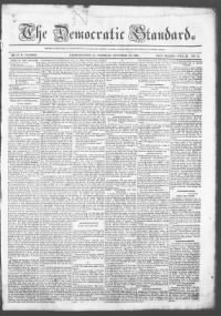 Sample Democratic Standard front page