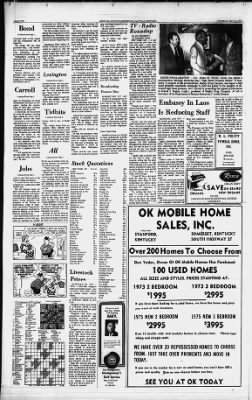 The Advocate-Messenger from Danville, Kentucky on May 15, 1975 · Page 12