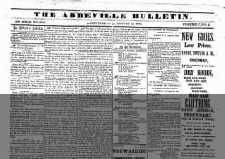 The Abbeville Bulletin