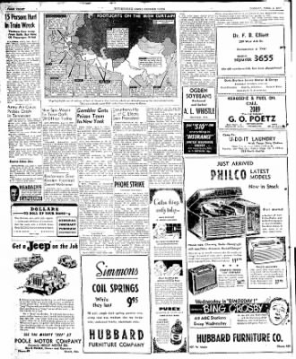 The Courier News from Blytheville, Arkansas on April 7, 1947 · Page 8