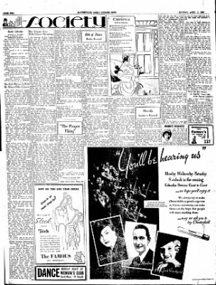 The Courier News from Blytheville, Arkansas on April 2, 1934 · Page 2
