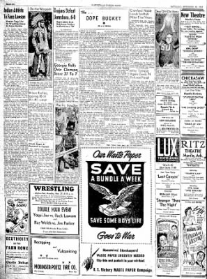 The Courier News from Blytheville, Arkansas on November 25, 1944 · Page 6