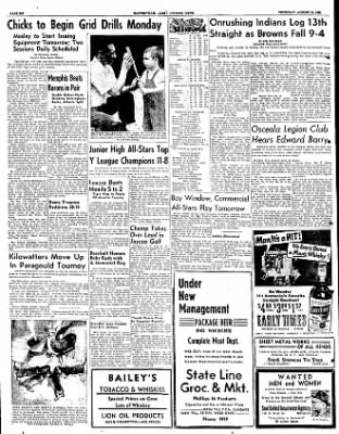 The Courier News from Blytheville, Arkansas on August 16, 1951 · Page 6