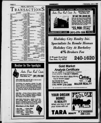 Asbury Park Press from Asbury Park, New Jersey on June 4, 1986 ...