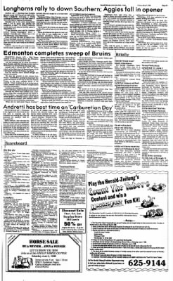 New Braunfels Herald-Zeitung from New Braunfels, Texas on May 27, 1988 · Page 9
