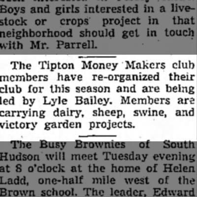 Tipton Money Makers club