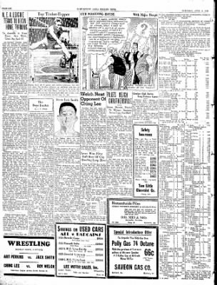 The Courier News from Blytheville, Arkansas on April 9, 1938 · Page 6