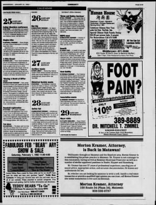 Asbury Park Press From Asbury Park New Jersey On January 22 1992 Page 259