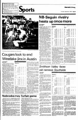 New Braunfels Herald-Zeitung from New Braunfels, Texas on September 4, 1986 · Page 9