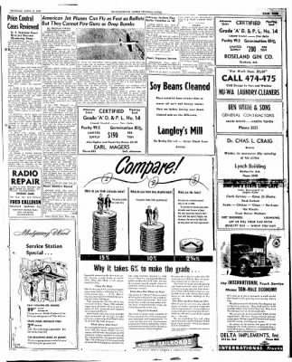The Courier News from Blytheville, Arkansas on April 8, 1947 · Page 9